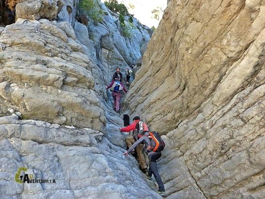 senderismo en Alcalaten