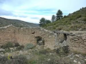 Corral en el barranco de la Cueva de los Corrales