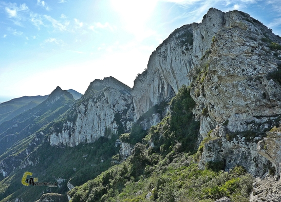 cumbres de la sierra de la Murta