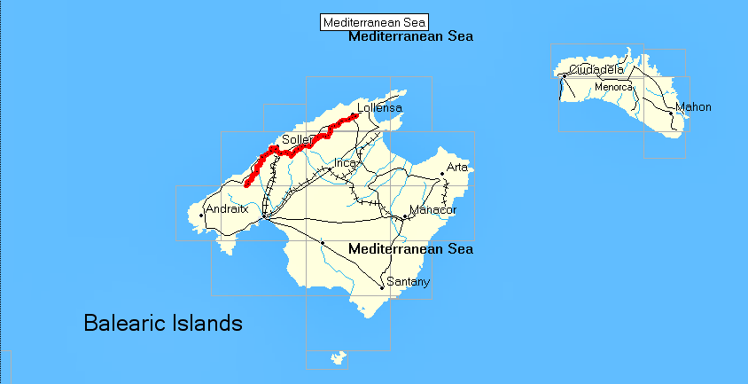 rutas en islas Beleares