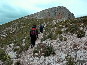Picos de la sierra Foradà