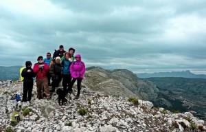 pico en la vall de Gallinera