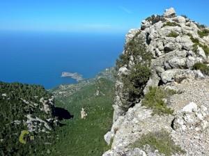 vistas de la costa de Mallorca