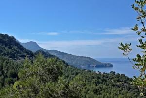 serra Tramuntana y la costa