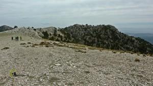 picos de la sierra de las Cabras
