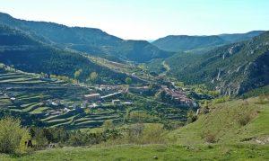 senderismo en Linares de Mora