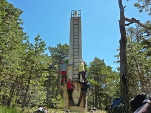 subida al alto del Monegro