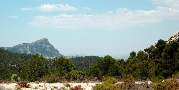sierra de Alicante