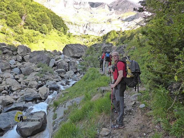 ruta en Pirineos