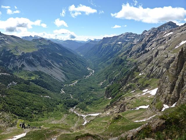 Vistas del Valle de Pineta