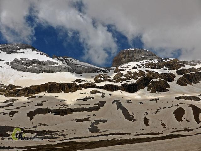 Cara norte de Monte Perdido y Cilindro de Marboré