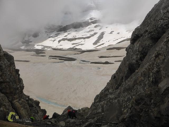 Cara norte de Monte Perdido desde Tucarroya