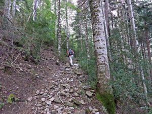 ruta a la Basa de la Mora