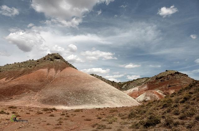 colores del terreno en Villel