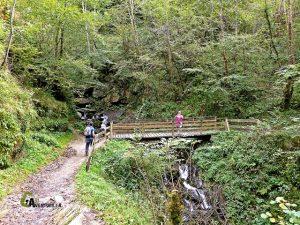 Ruta senderismo en Larrau
