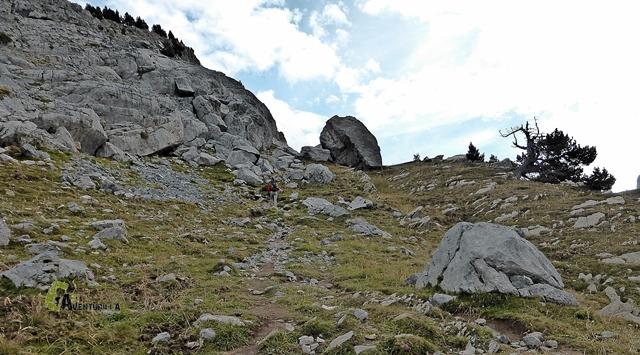 Rocas en la subida a la Mesa de los tres Reyes