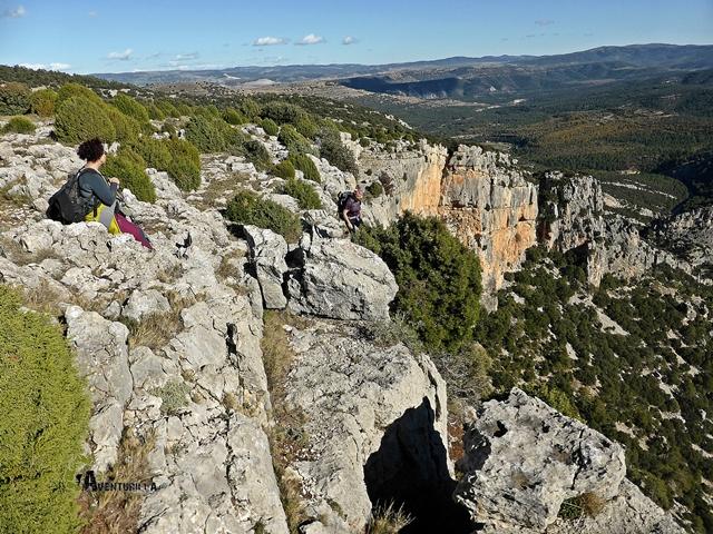 Roca Roja en la Rambla Celumbres
