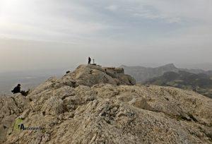 En la cima del Maigmó
