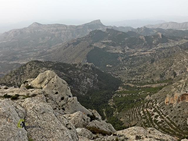 Vistas de la sierra del Cid