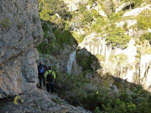 cascadas de la Caramella
