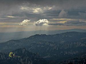 Panorámica desde el pico Mont Caro