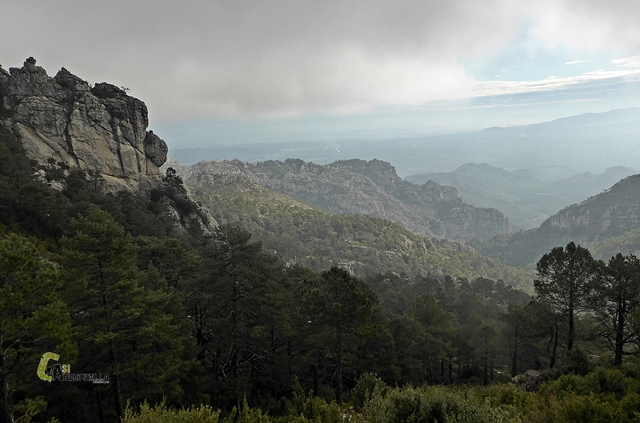 vistas desde el Coll dels Pallers