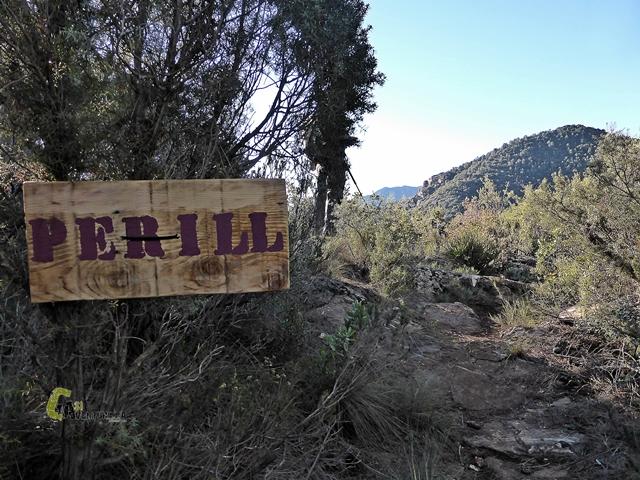 senderismo en la sierra de Espadán