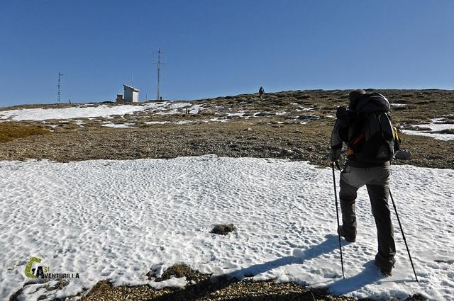 Cumbre del pico Javalambre