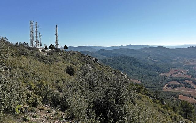 Vistas desde el pico Remedio