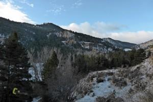 Por el valle del río Paulejas