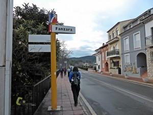 senderismo en Fanzara