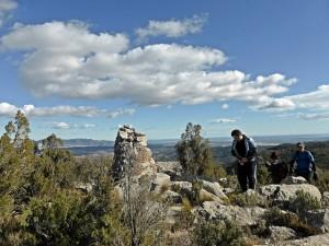 En la cima del Turio