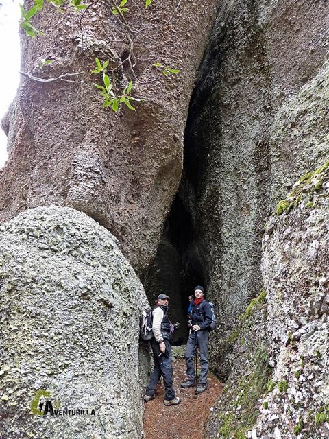 formaciones rocosas de Las Callejuelas