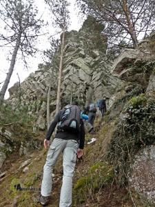 subida al pico Ranera