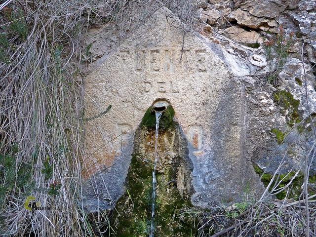 Fuente del Pino en el río Magro