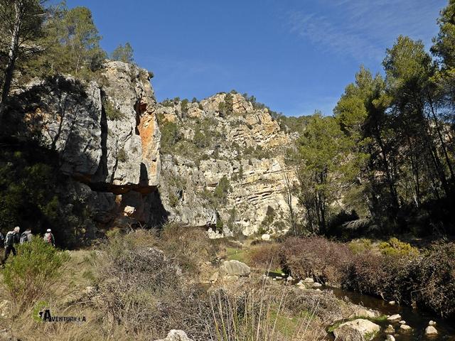 cañón del río Magro en Hortunas