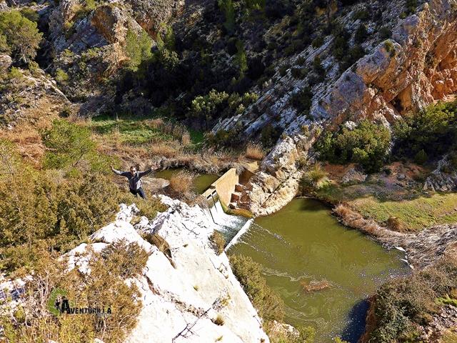Vistas hacia el río Magro