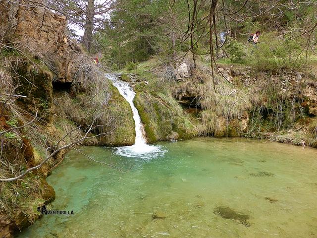 Barranco en la sierra de Gudar
