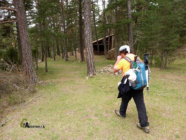 área recreativa en la sierra de Gudar