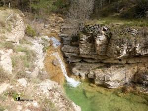 cascada en la sierra de Gudar