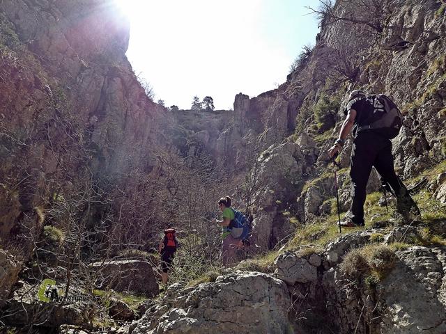 Barranco en Teruel