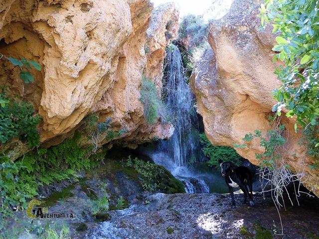 cascada en la sierra de Segura