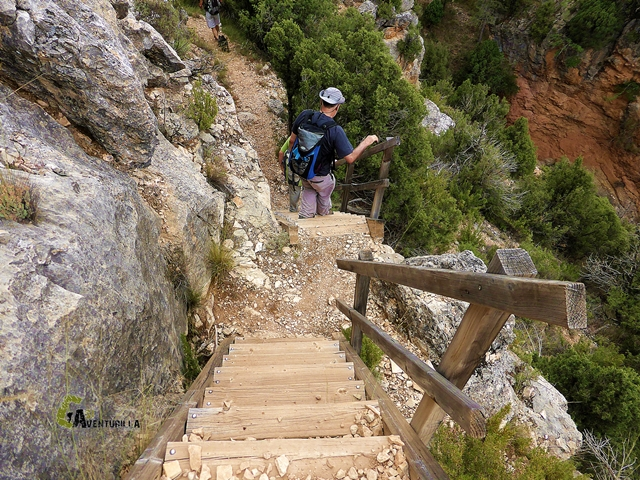 Senderismo en la sierra de Albarracín