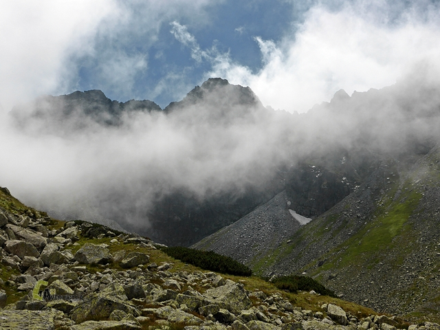 Paisaje alpino de los Tatras