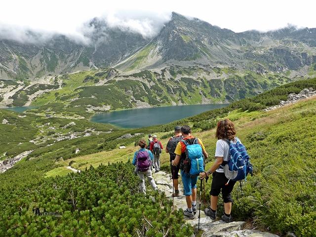 Lagos Wielki y Przedni, en los Tatras Polacos