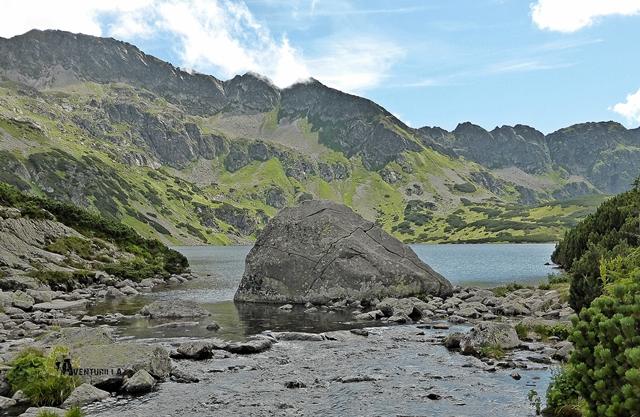 Lago Wielki en los Tatras Polacos