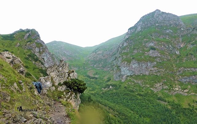 subida el Pico Giewont