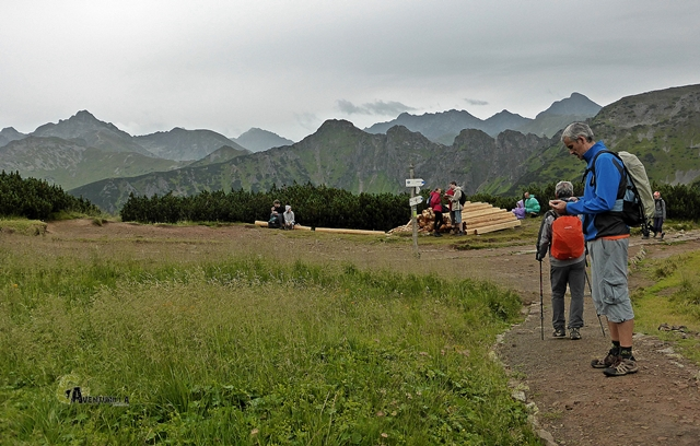 collado en los Tatras