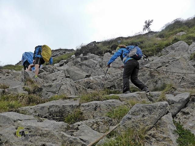 paso de cadenas en Tatras