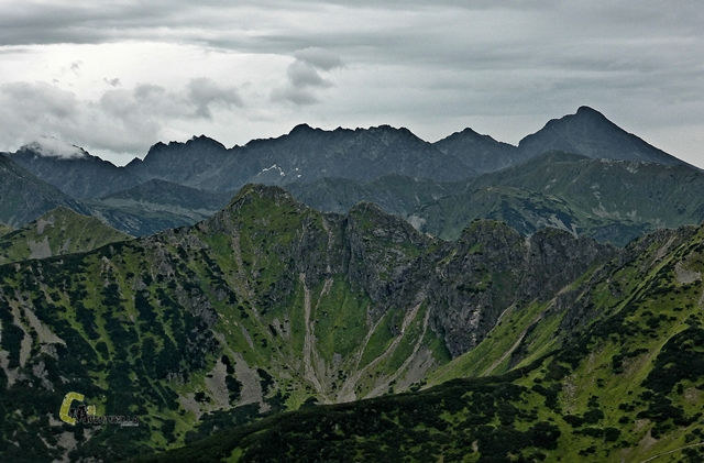 vistas desde el pico Giewont